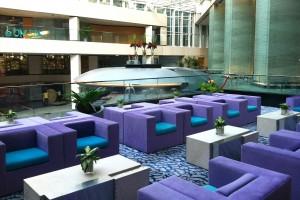 Hotel lobby, Hong Kong