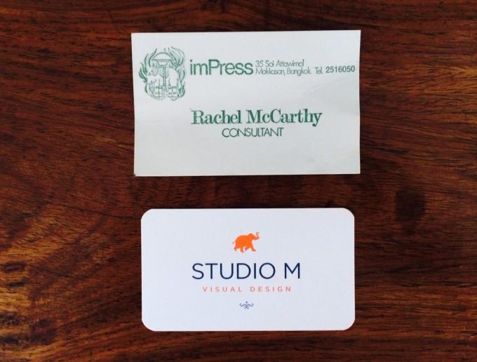 SM & imPress bizcards